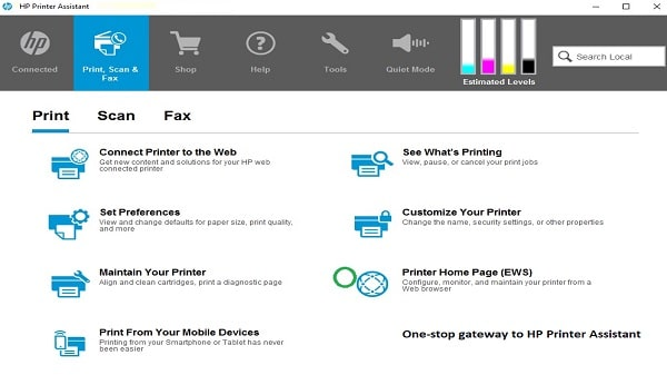 HP Printer Assistant Software